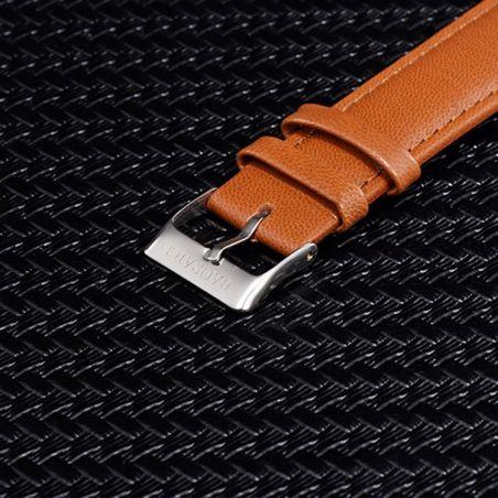 montre bracelet cuir femme
