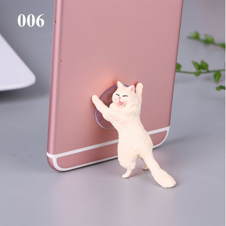 Support chat avec ventouse pour smartphone