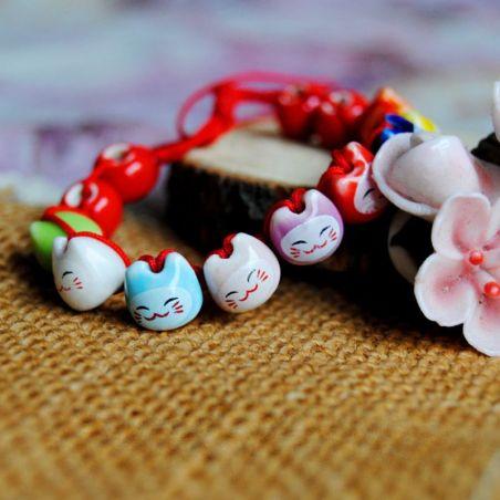 bracelet lucky cat