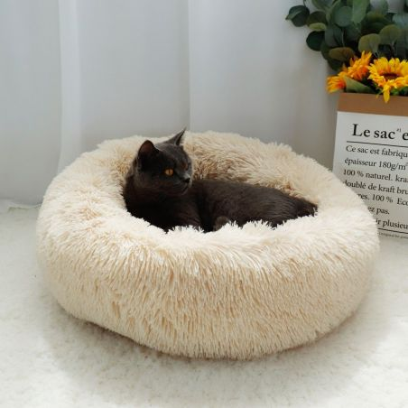 coussin moelleux chat