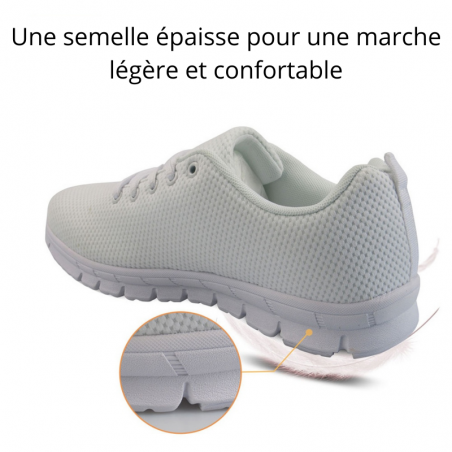 chaussures motif chat