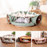 Couchage Chat et tunnel