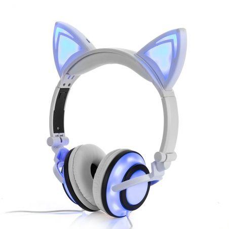 casque oreille de chat