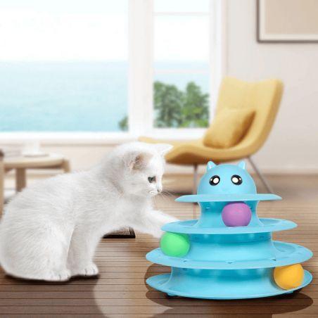 jouet pour chat contre l ennui