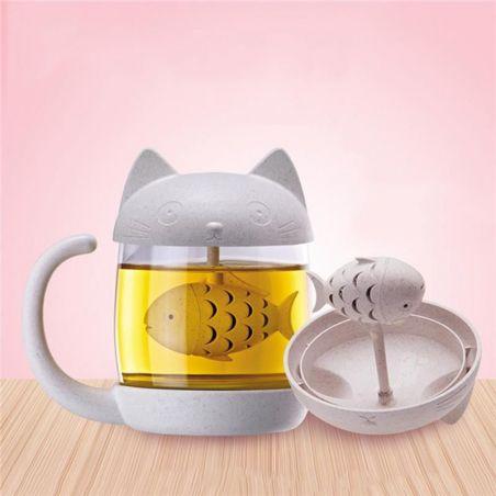 mug à thé avec infuseur