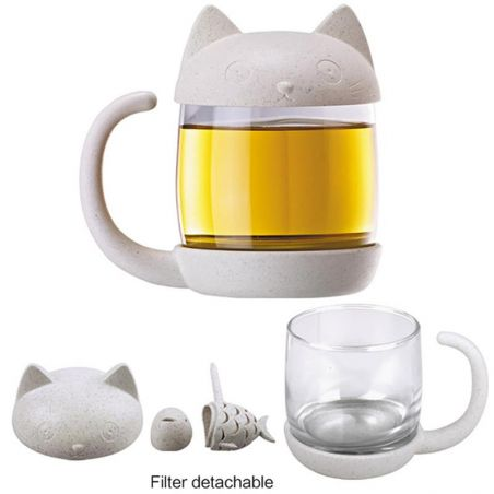 tasse infuseur the chat