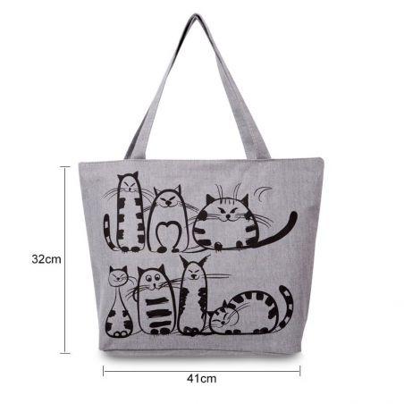 sac à main chat