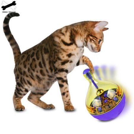 jeu croquette chat