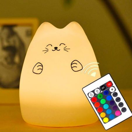 Veilleuse silicone chat