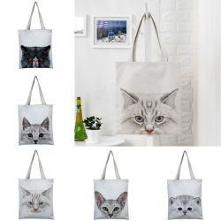 Tote bag chat pas cher
