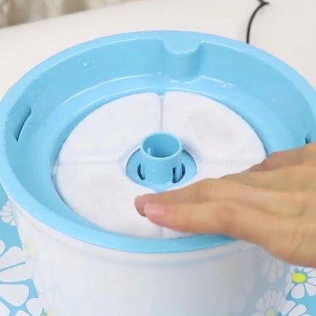 filtre fontaine eau chat