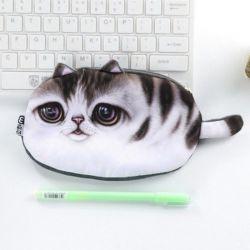 Trousse porte-monnaie chaton