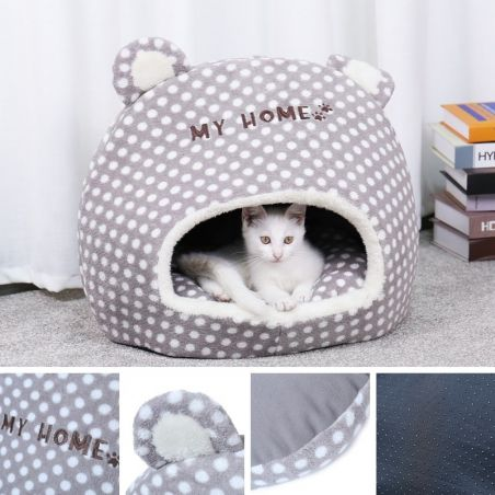 igloo pour chat pas cher