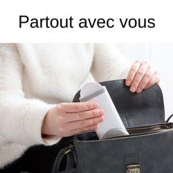 Brosse vêtement pour sac a mains