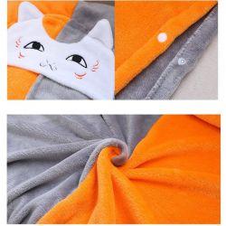 Cape avec capuche chat manga