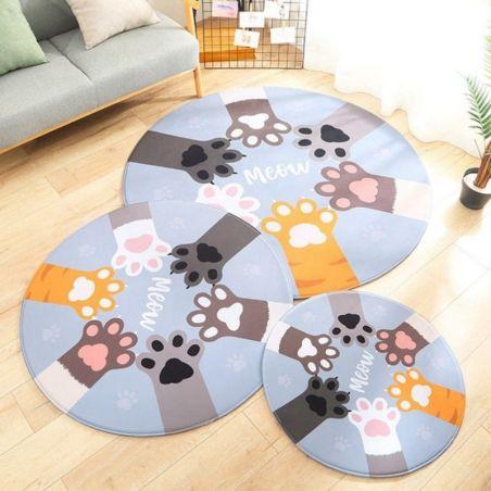 tapis rond chambre bébé