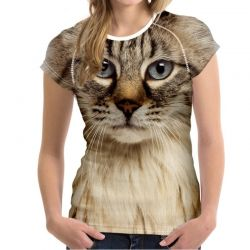 T shirt yeux de chat