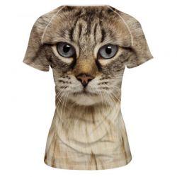 T shirt chat original pas cher