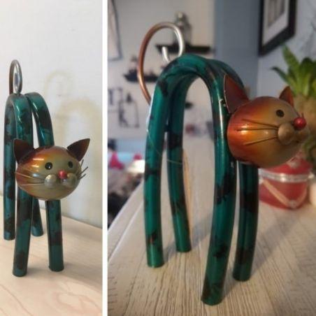 sculpture de chat