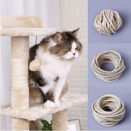 Corde sisal pour arbre a chat