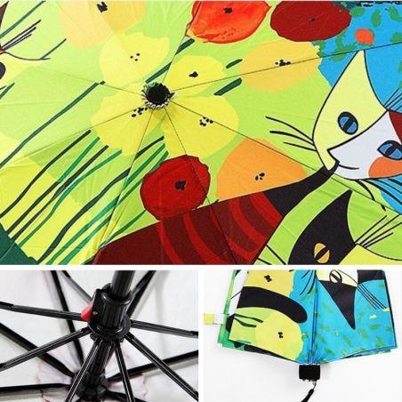 parapluie avec des chats