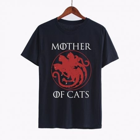 T shirt avec des chats
