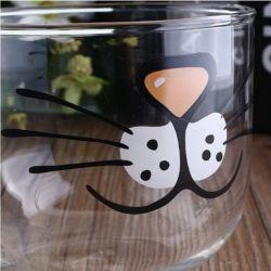 Tasse à café grand format motif chat
