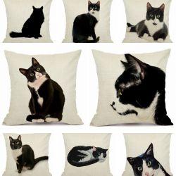 Enveloppes coussin motif chat pas cher