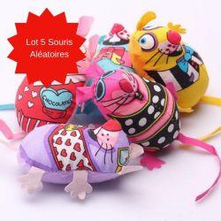 Souris jouet chat
