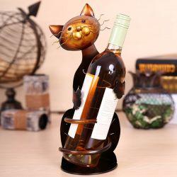 Porte bouteille motif chat pas cher