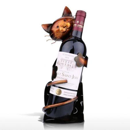 porte bouteille vertical