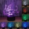 Lampe veilleuse motif chat