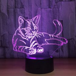 Veilleuse chat led originale