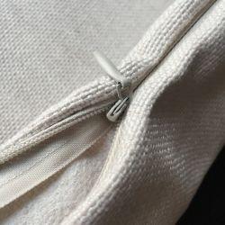 Enveloppe coussin en coton avec chat pas cher