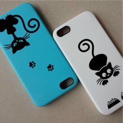 Petit stickers chat pour téléphone