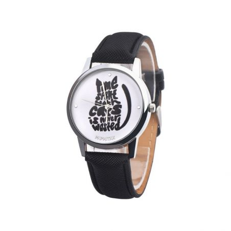 cadran de montre chat