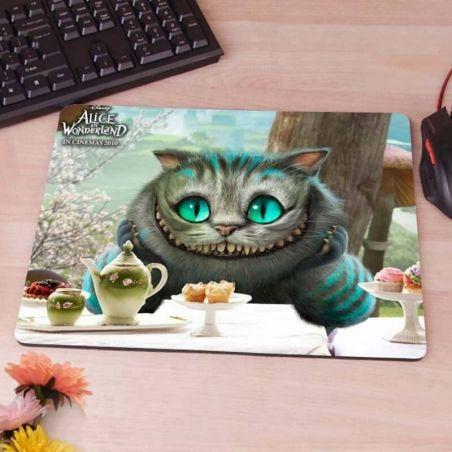 Tapis de souris chat Alice au pays des Merveilles