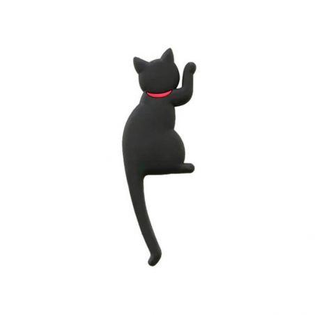 Crochet magnet chat noir