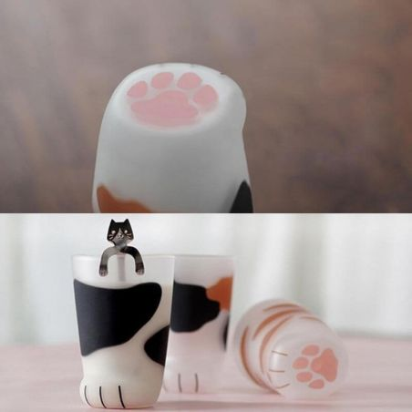 tasse patte de chat