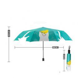 Parapluie de sac à main motif chat
