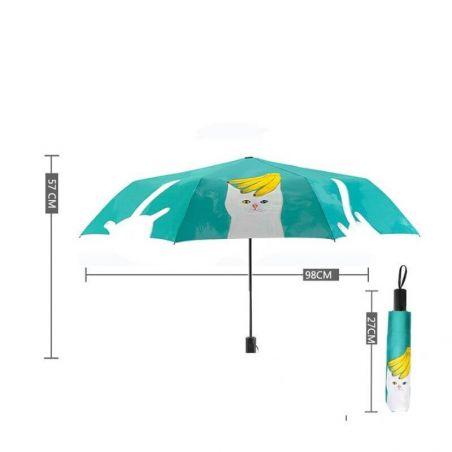 parapluie chat pliant