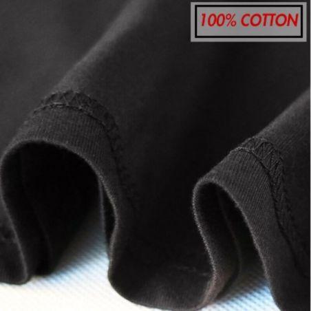 T shirt pur coton motif chat