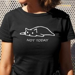 Tee shirt chat coton XL