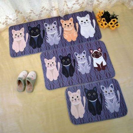 tapis d entrée chat