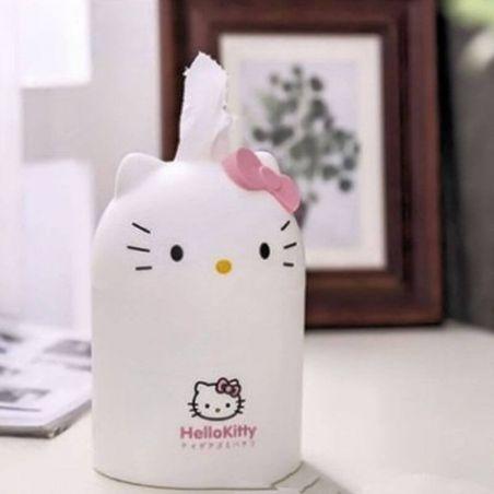 Boite chat pour mouchoir