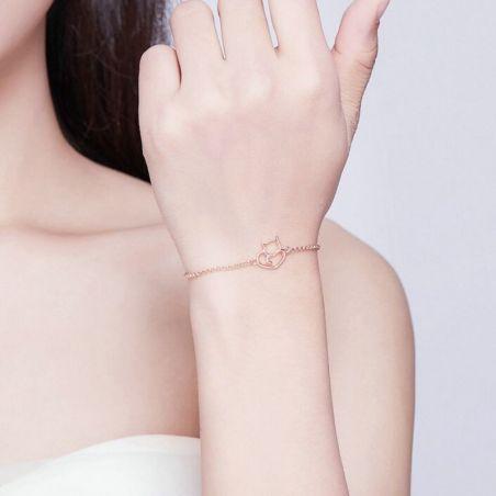 Bracelet en forme de chat