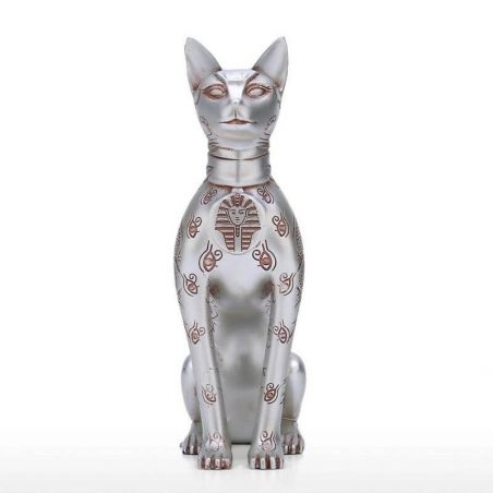 Statuette chat egyptien