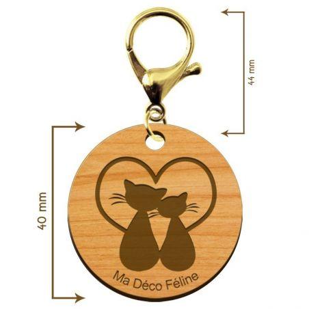 porte clé personnalisé bois
