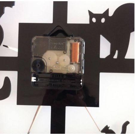 pendule murale avec chats