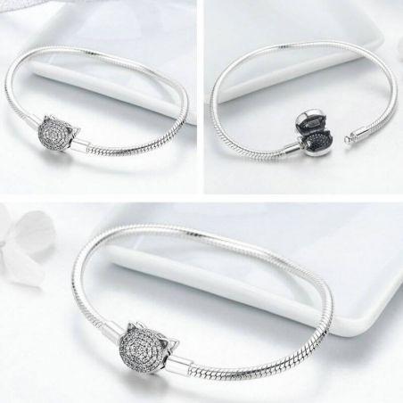 bracelet tete de chat